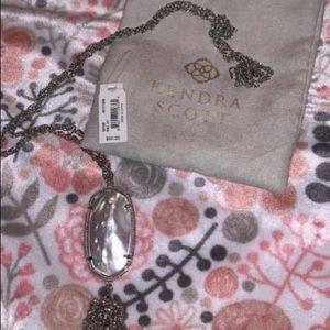 Kendra Scott silver rayan necklace